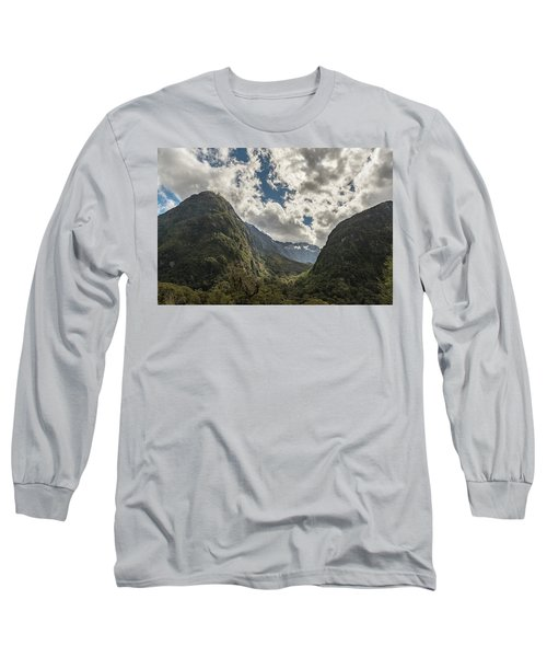 Long Sleeve T-Shirt featuring the photograph Pop's View Lookout by Gary Eason