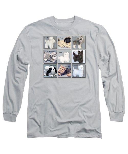 Popular Pooches Long Sleeve T-Shirt by David and Lynn Keller
