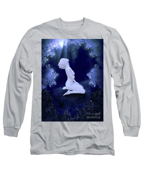 Porcelain Moon Long Sleeve T-Shirt