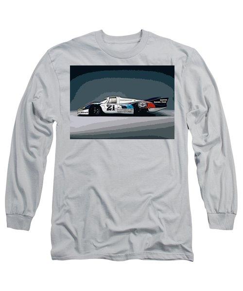 Porsche 917 Longtail 1971 Long Sleeve T-Shirt