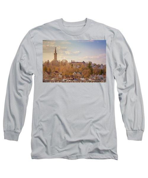 Port Washington Skyline Long Sleeve T-Shirt