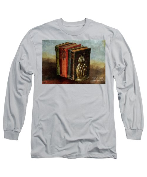 Long Sleeve T-Shirt featuring the digital art Portable Magic by Lois Bryan