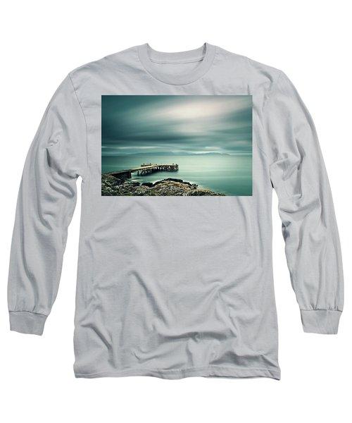 Portencross Pier Long Sleeve T-Shirt
