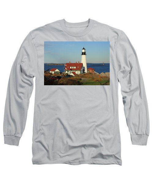 Portland Head Lighthouse 2 Long Sleeve T-Shirt