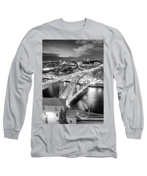 Porto Sao Luis I Bridge Long Sleeve T-Shirt