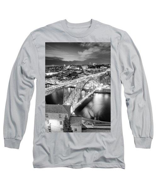Porto Sao Luis I Bridge Long Sleeve T-Shirt