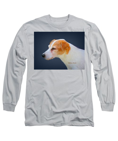 Portrait Of A Jack Russel Long Sleeve T-Shirt
