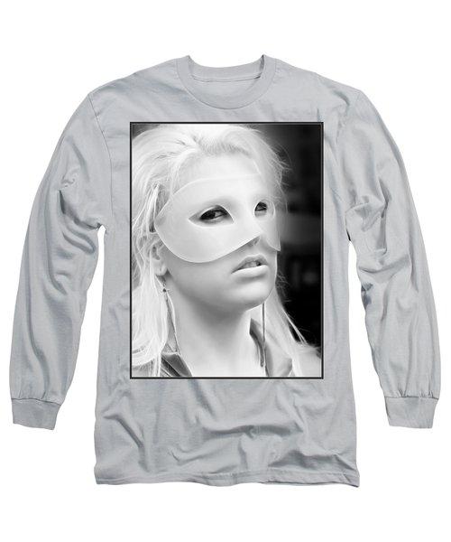 Portrait Of A Masked Heroine Long Sleeve T-Shirt