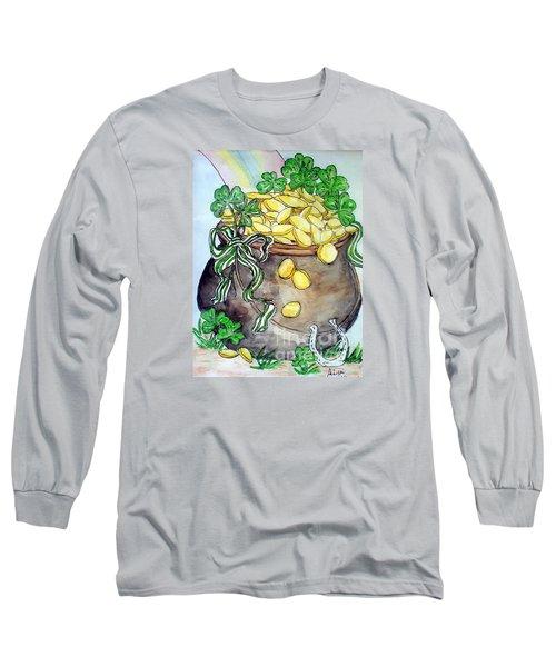 Pot-of-gold Long Sleeve T-Shirt