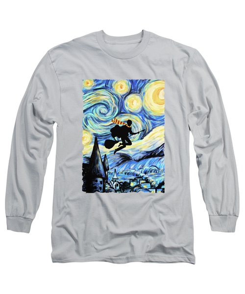 Potter Starry Night Long Sleeve T-Shirt