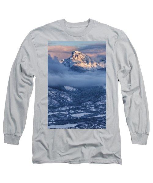 Precipice Smiling Long Sleeve T-Shirt