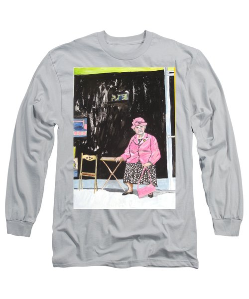 Pretty In Pink Long Sleeve T-Shirt by Esther Newman-Cohen