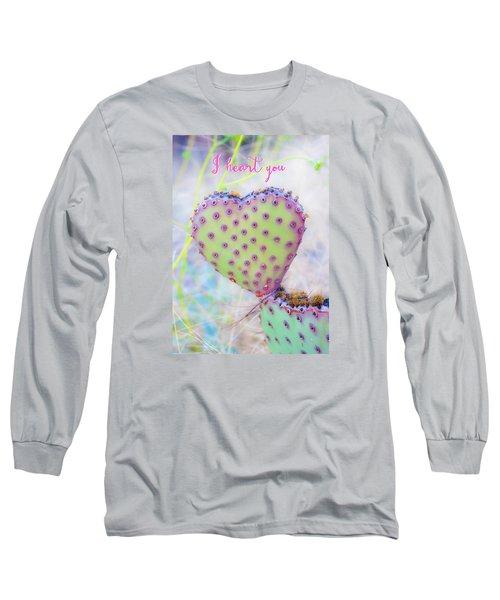 Prickly Heart Long Sleeve T-Shirt