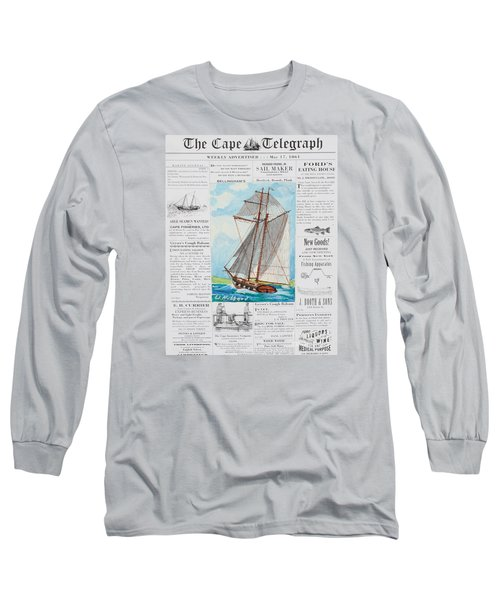 Privateer Off Charleston, Sc Long Sleeve T-Shirt