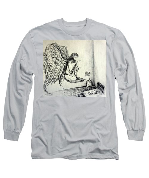 Psalms Chapter 91 Verse 11 Long Sleeve T-Shirt