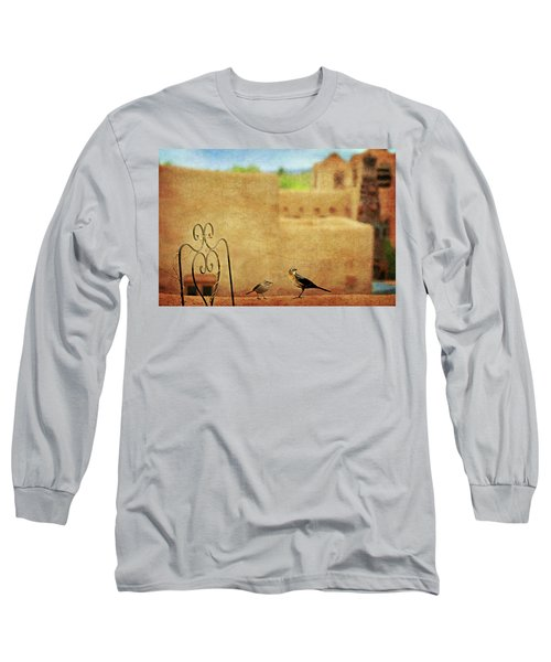 Long Sleeve T-Shirt featuring the photograph Pueblo Village Settlers by Diana Angstadt