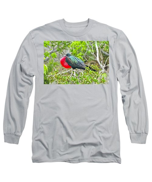 Puffing Up When Courting Long Sleeve T-Shirt