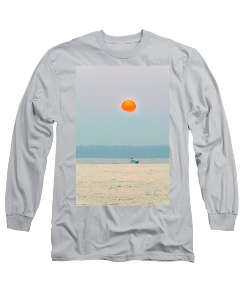 Puget Sound Under The Heavy Smoke Long Sleeve T-Shirt