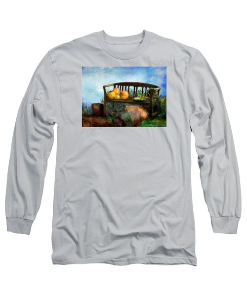 Pumpkin Harvest Respite Long Sleeve T-Shirt