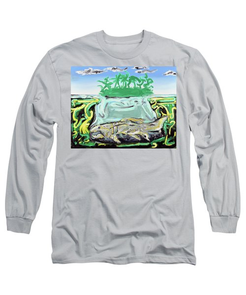 Purgatorium Praedator Long Sleeve T-Shirt by Ryan Demaree