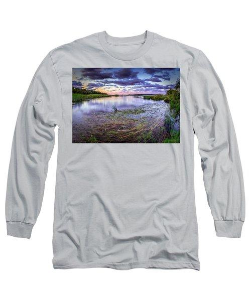 Purple Bay Long Sleeve T-Shirt