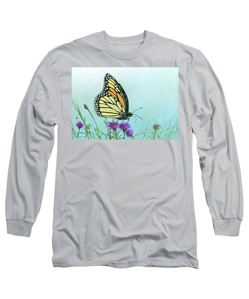 Purple Passion Long Sleeve T-Shirt by Mike Brown