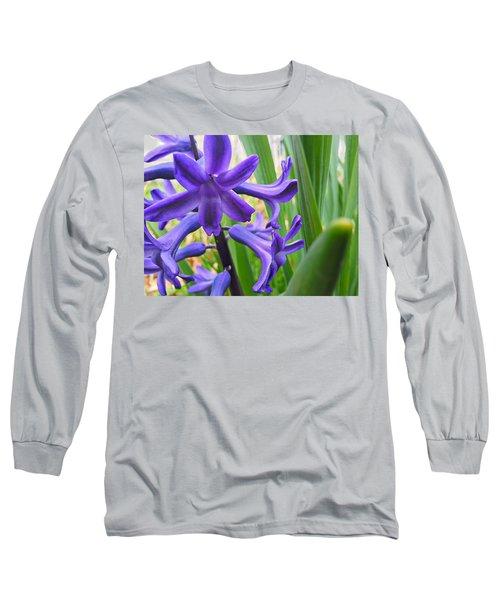 Purple Spring Long Sleeve T-Shirt