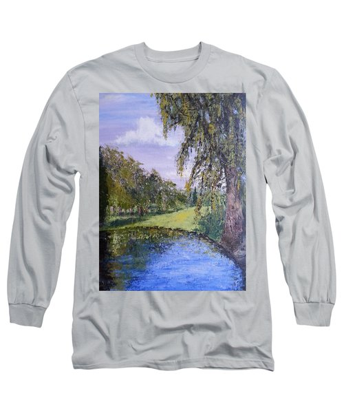 Putting Green Pond Long Sleeve T-Shirt