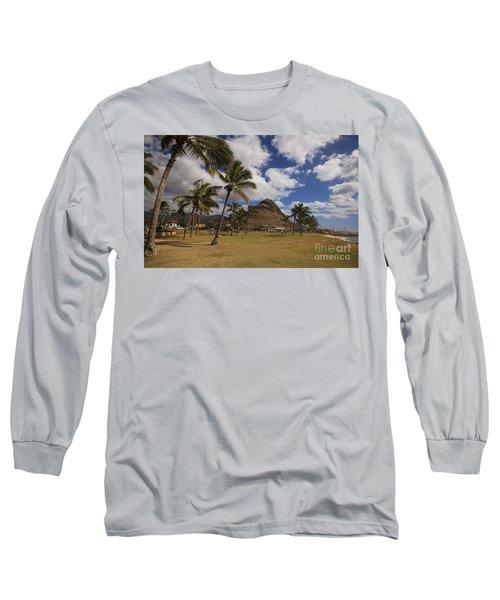 Long Sleeve T-Shirt featuring the photograph Puu O Hulu Kai by Craig Wood