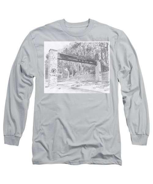 Quantico Welcome Graphite Long Sleeve T-Shirt