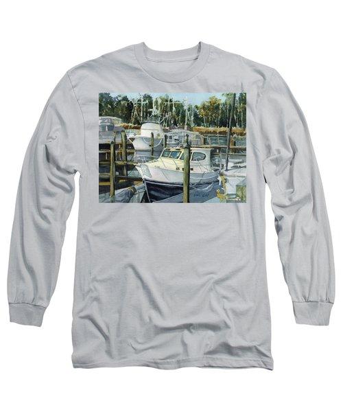 Quiet Marina Long Sleeve T-Shirt