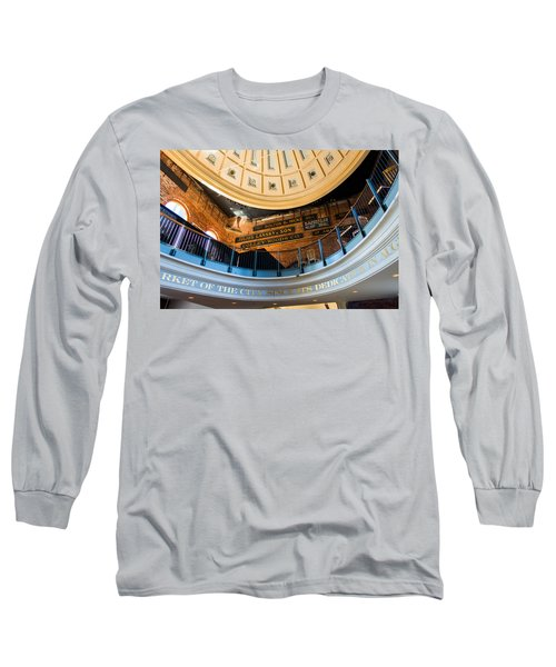 Quincy Market Vintage Signs Long Sleeve T-Shirt