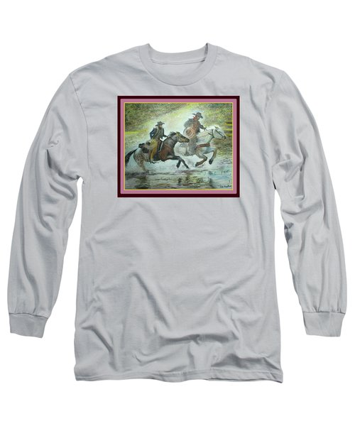 Racing Through The Water Long Sleeve T-Shirt