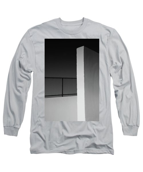Long Sleeve T-Shirt featuring the photograph Racquetball Court II  by Richard Rizzo