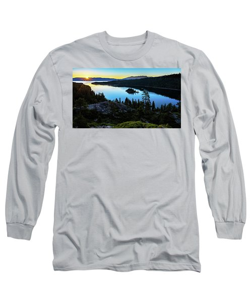 Radiant Sunrise On Emerald Bay Long Sleeve T-Shirt