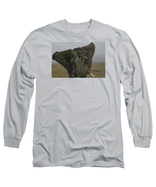 Long Sleeve T-Shirt featuring the photograph Raging Bull by Gary Hall