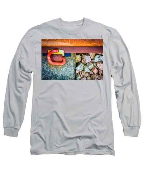 Railway Track. Long Sleeve T-Shirt