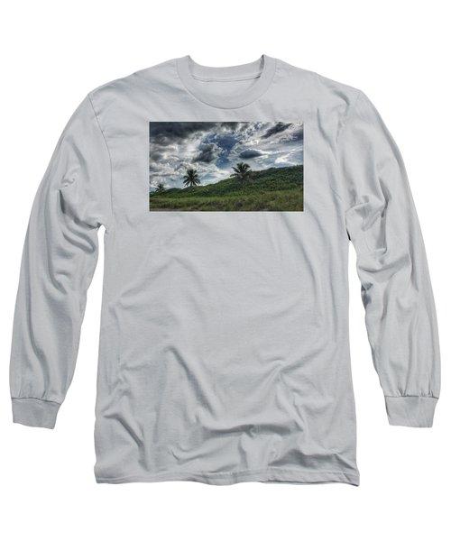 Rain Clouds Long Sleeve T-Shirt