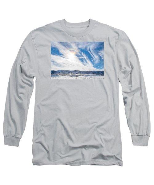 Rainbow Clouds Long Sleeve T-Shirt