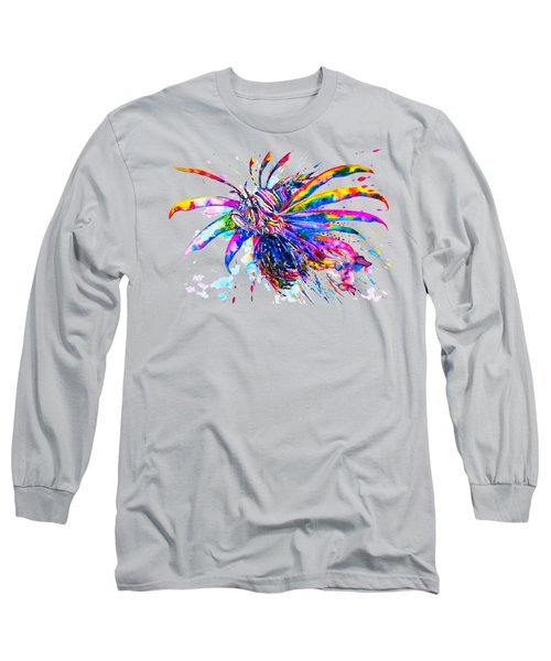 Rainbow Lionfish Long Sleeve T-Shirt