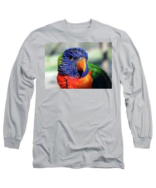 Rainbow Lorikeet Long Sleeve T-Shirt