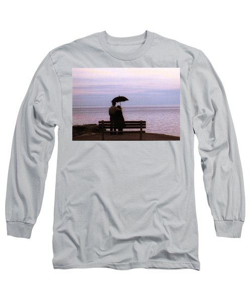 Rainy-may In Color Long Sleeve T-Shirt by John Scates