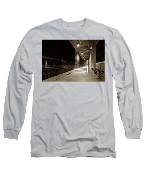 Rainy Night In Baltimore Long Sleeve T-Shirt
