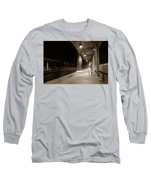 Rainy Night In Baltimore Long Sleeve T-Shirt