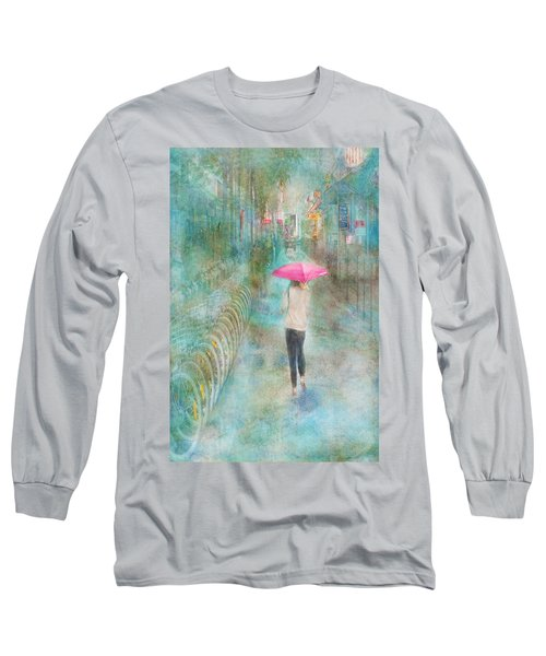 Rainy In Paris 3 Long Sleeve T-Shirt