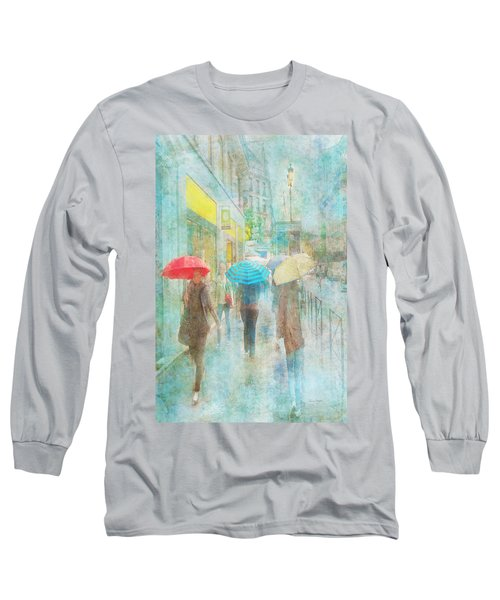 Rainy In Paris 5 Long Sleeve T-Shirt