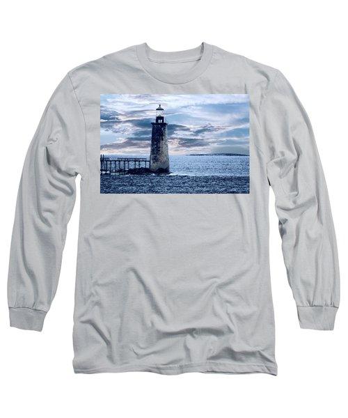 Ram Island Head Lighthouse.jpg Long Sleeve T-Shirt