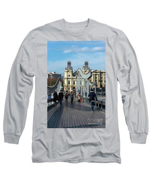 Rambla Del Mar Footbridge Long Sleeve T-Shirt