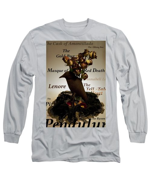 Raven And Roses Long Sleeve T-Shirt