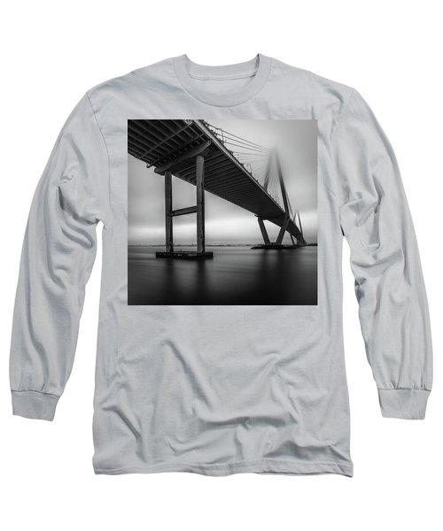 Ravenel Bridge November Fog Long Sleeve T-Shirt